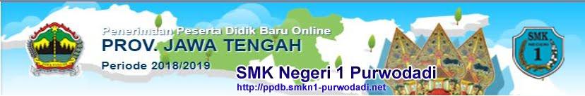 PPDB SMKN 1 Purwodadi 2018/2019
