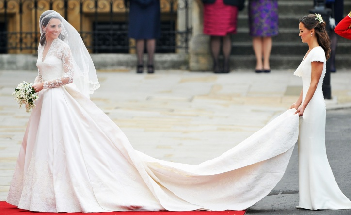 Kate wedding dress, anggun dan cantik