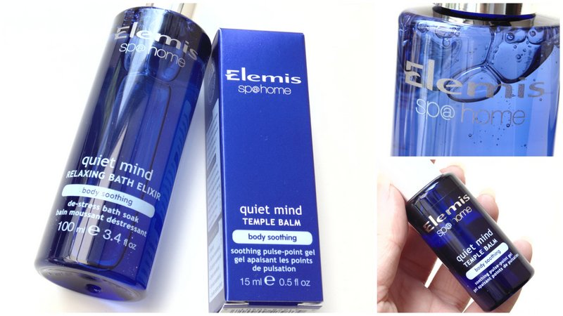 Review: Elemis Quiet Mind Elixir + Balm