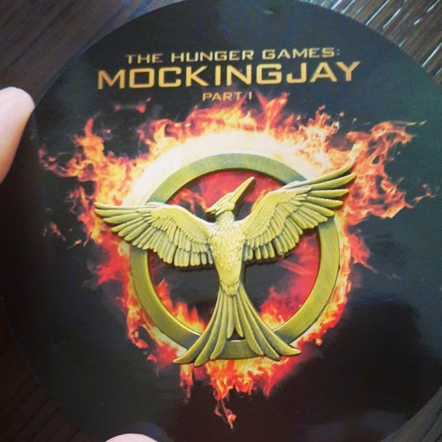 Mockingjay Part 1 Pin from Comic-Con 2014