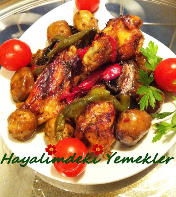 firinda mantar yemekleri;resimli yemek tarifleri