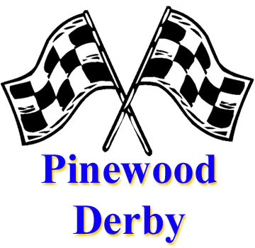PInewood Derby District Race