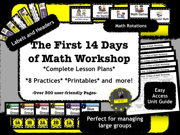 The First 14 Days of Math Workshop