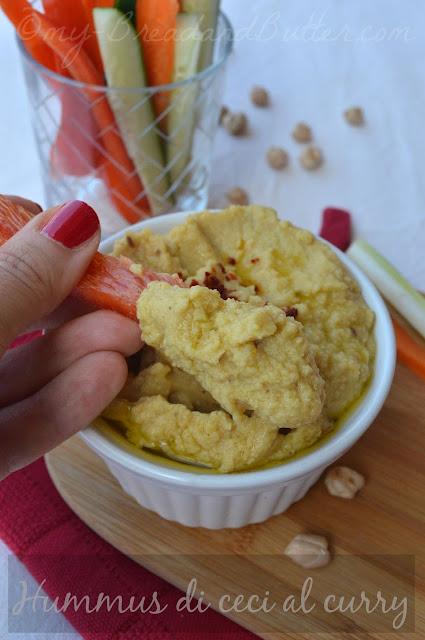 Hummus d ceci veloce senza salsa tahina