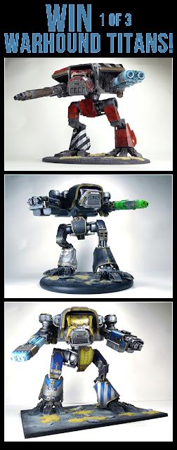 Warhammer 40000 Warhound Titan