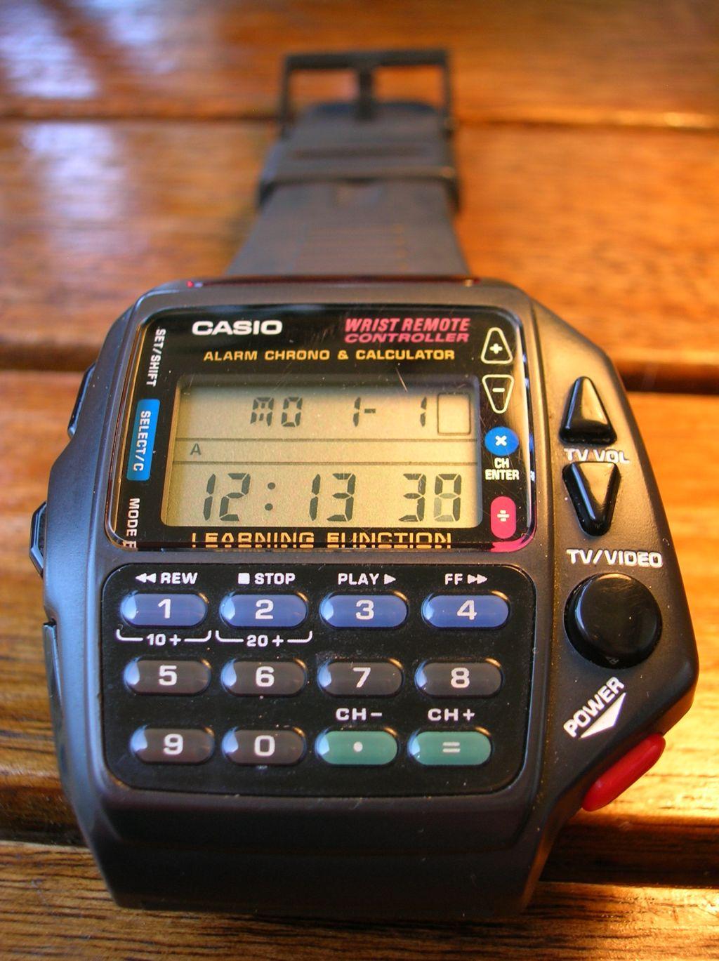 Reloj Casio Infrarrojos