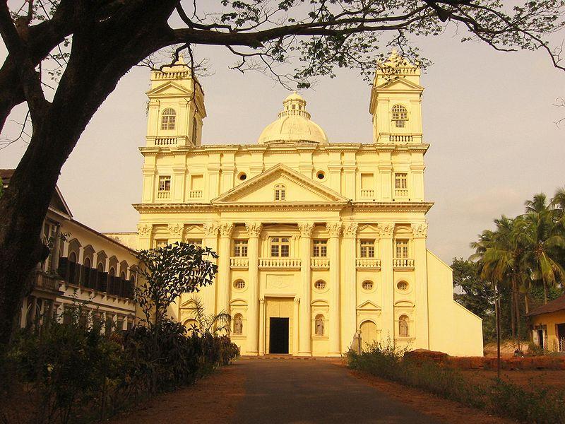 Churches Goa Wikipedia Church Old Goa