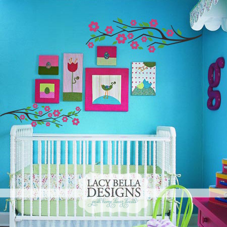 Blossom Branch Wall Decal Lacy Bella Blog