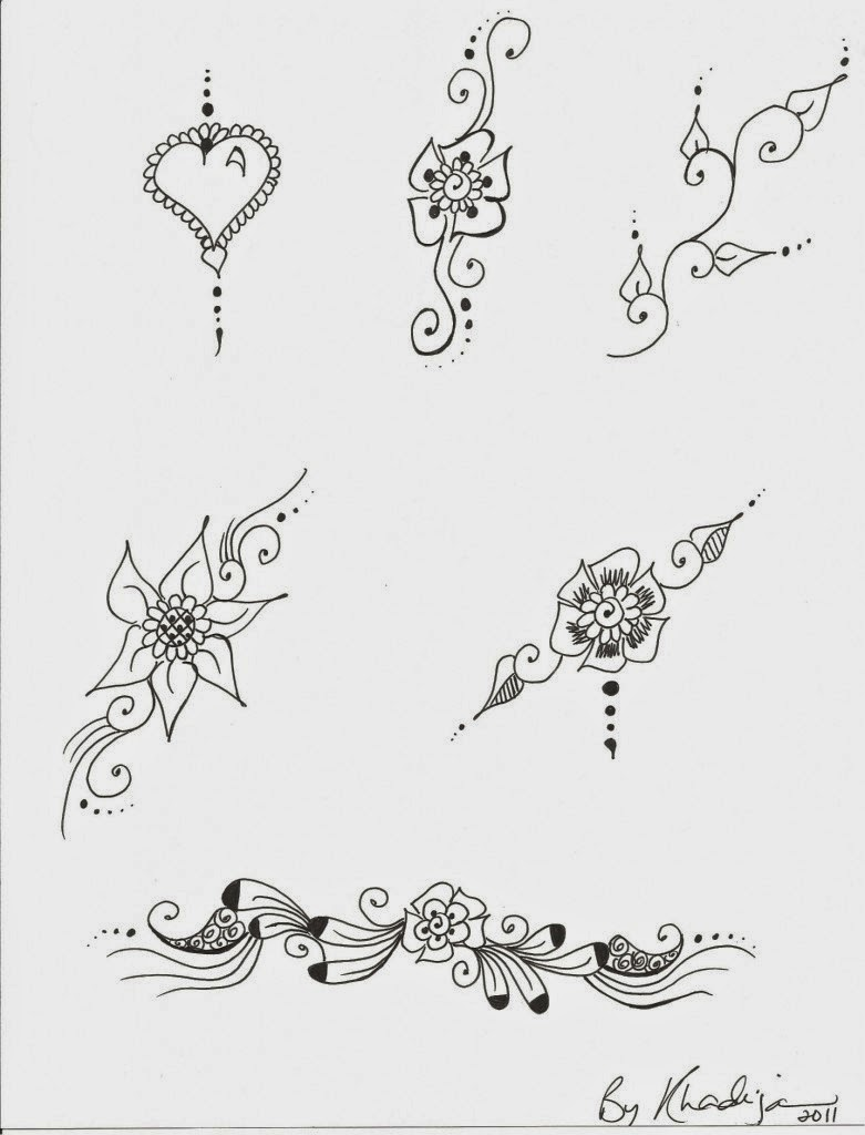 66 images for paper drawing henna design