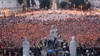 Massive FlashMob Gangnam Style in Rome 30,000 people video