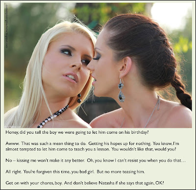 Lesbian tease