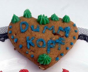 Lebkuchen heart herz cookie Oktoberfestherzen gingerbread dummkopf german corazón alemán galleta jengibre deutsch