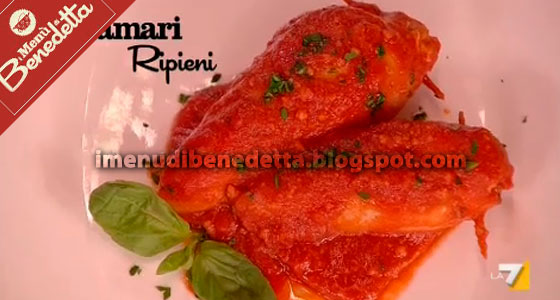 calamari ripieni ricetta