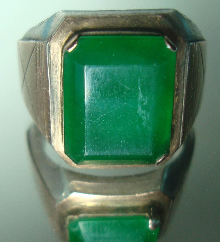 Sold Out Natural Cincin Batu giok