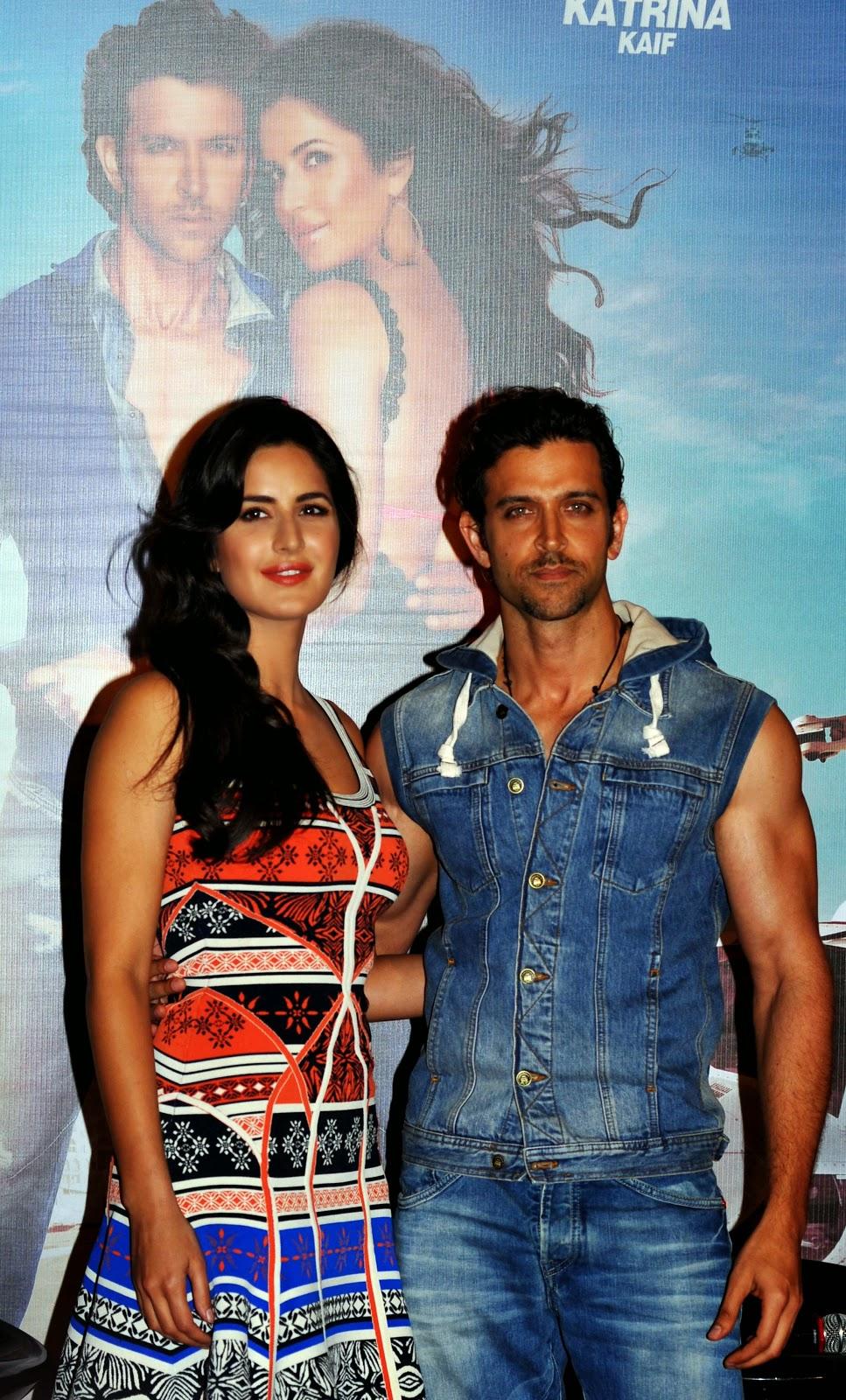 Katrina Kaif and Hrithik Roshan HD Pictures of 'Bnag Bang!' Promotion