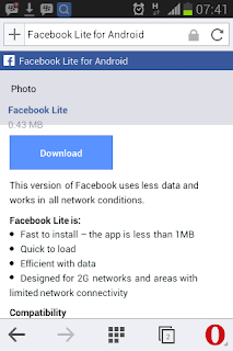FacebookLite.Apk