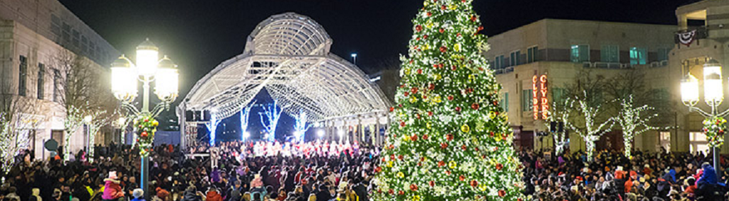 Reston Town Center Christmas Tree Lighting & Sing-Along with Reston Chorale