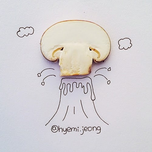 11-Volcano-Hyemi-Jeong-Everyday-Things-to-Draw-With-www-designstack-co