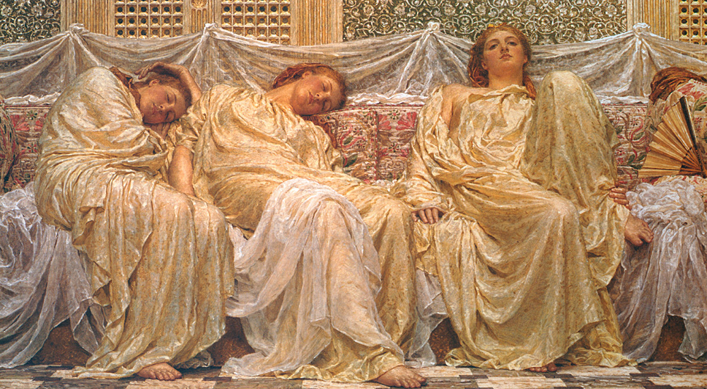 albert moore dreamers