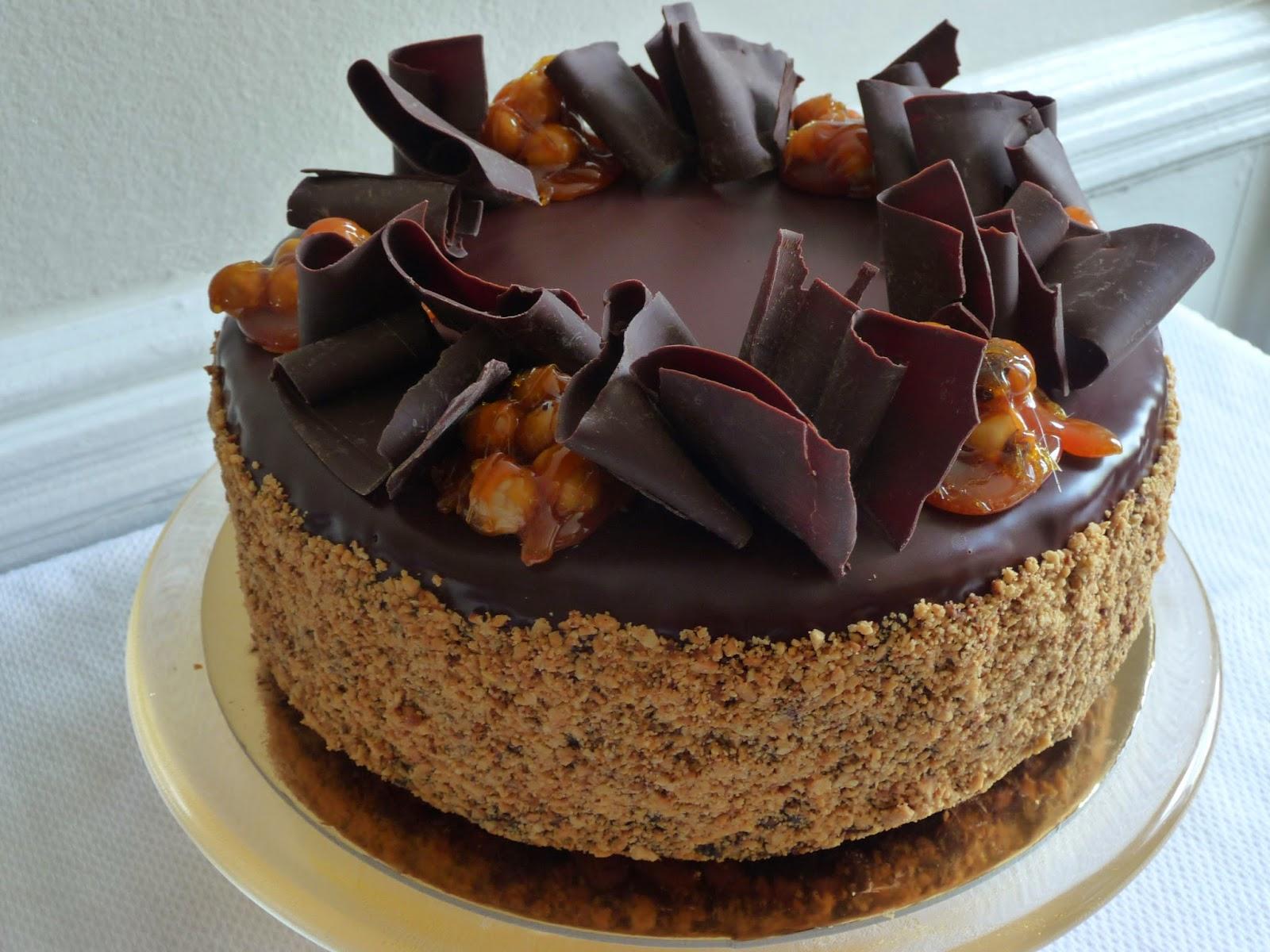 Tortas de chocolate parte 2 - Decoracion con chocolate ...