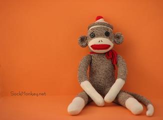 Knitted Sock Monkey Pattern : sock monkey patterns-Knitting Gallery