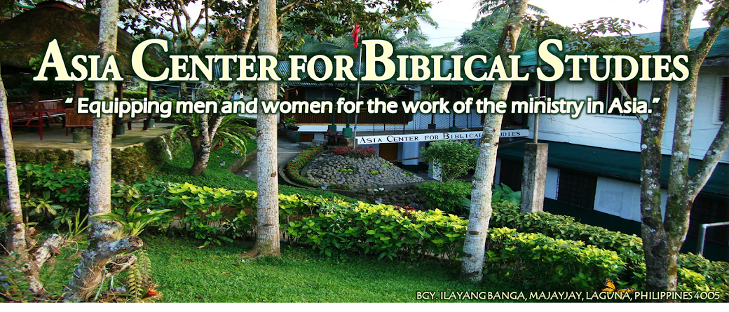 Asia Center for Biblical Studies