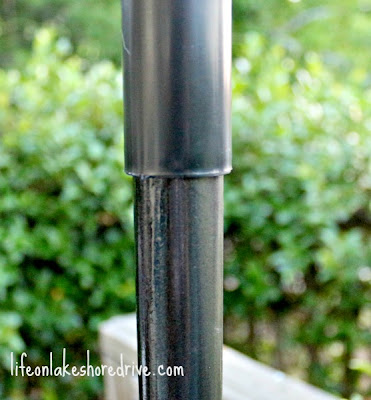 DIY Solar Light Lamp Post with Flower Planter
