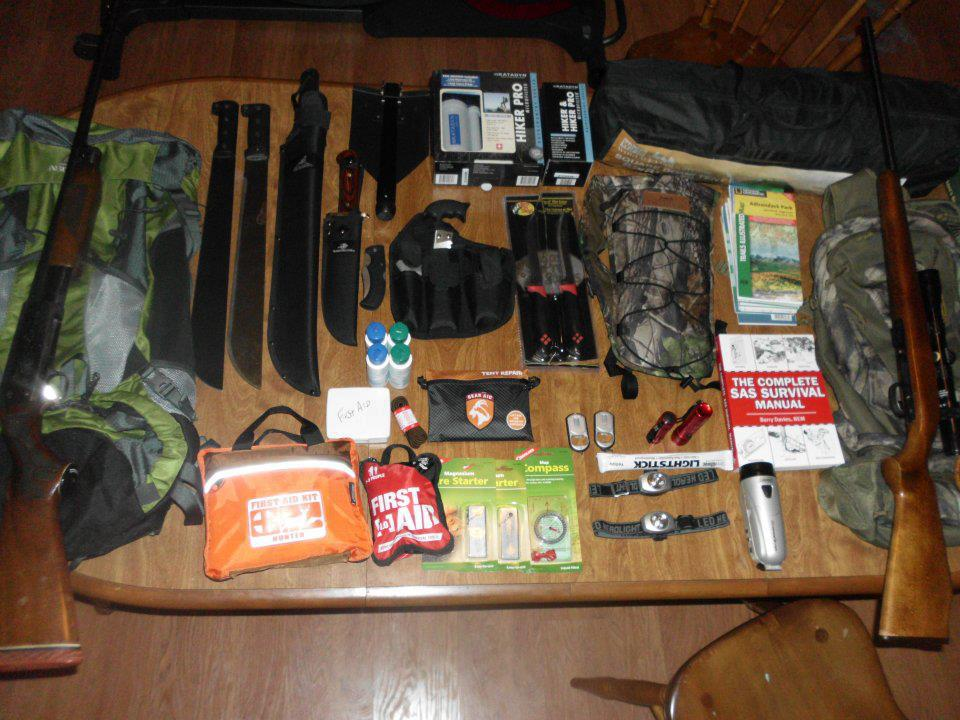 Build The Perfect Bug Out Bag Work In Progress