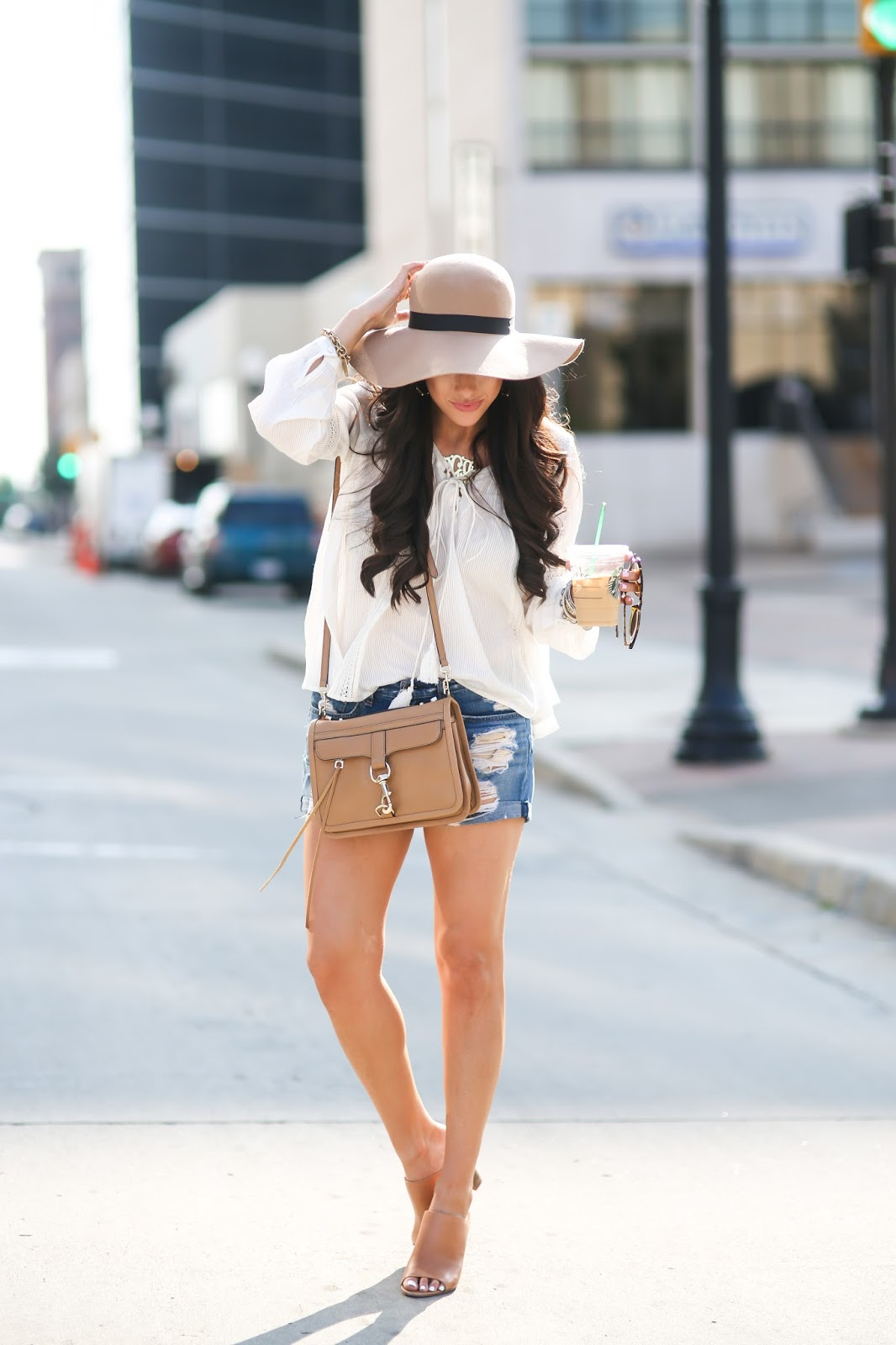 Floppy Hats & Boyfriend Shorts | The Sweetest Thing ...