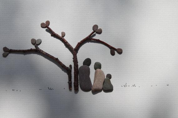 kamienie DIY inspiracje eco manufaktura Pebble Art