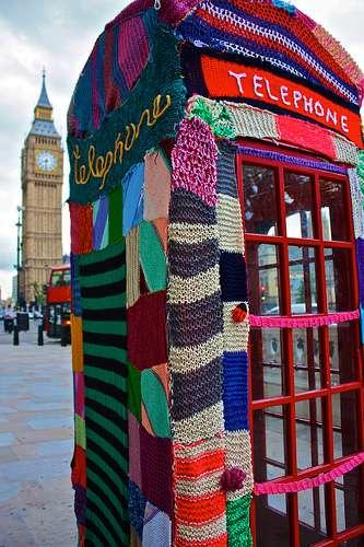 Urban Knitting Graffiti : Jannie bananie designs etc yarn bombing my kind of