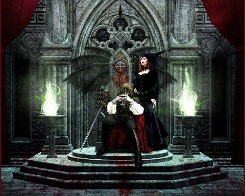 Loving The Dark Artwork Gothic Vampires