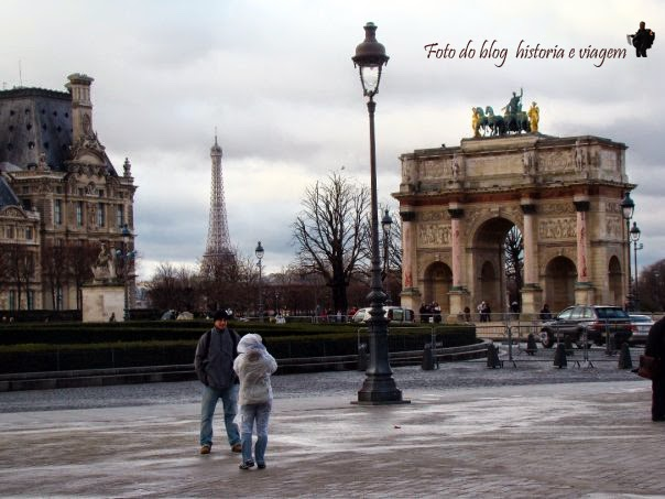 Arc de Triomphe du Carrousel - Musée du Louvre