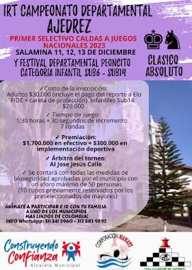 IRT Camp Deptal Ajedrez Absoluto - Salamina 2020 - (Dar clic a la imagen)