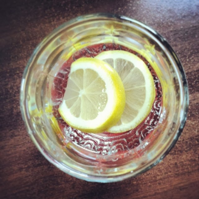 Lemon water | The Economical Eater