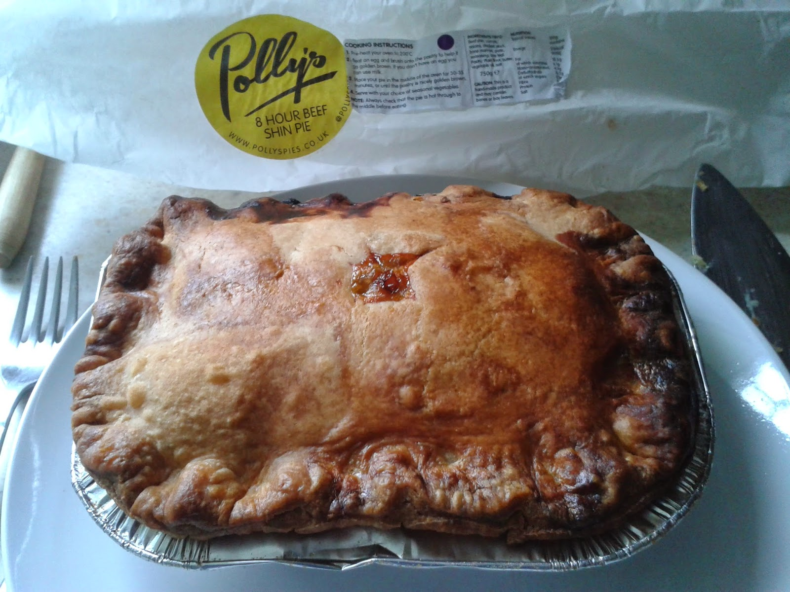 Polly's Pies Beef Pie Review