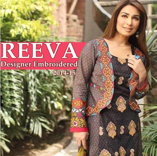Reeva Designer Embroidered 2014