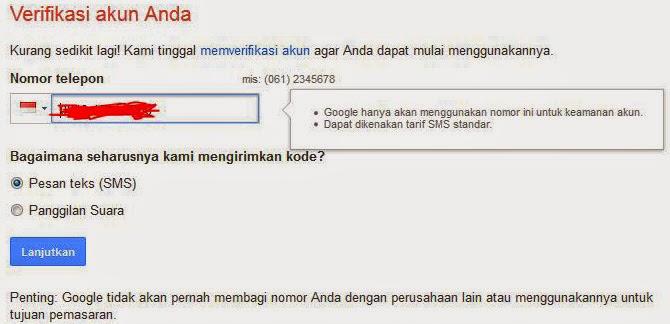 Cara Membuat Email di Gmail 2015 Lengkap