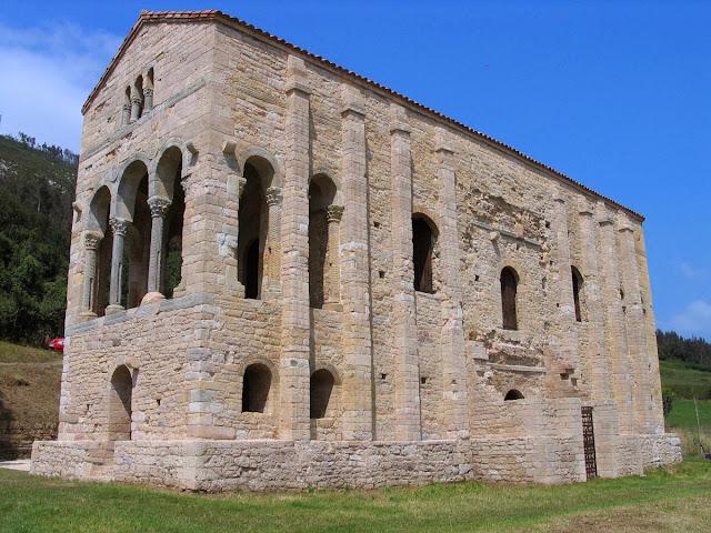 Santa María del Naranco oviedo