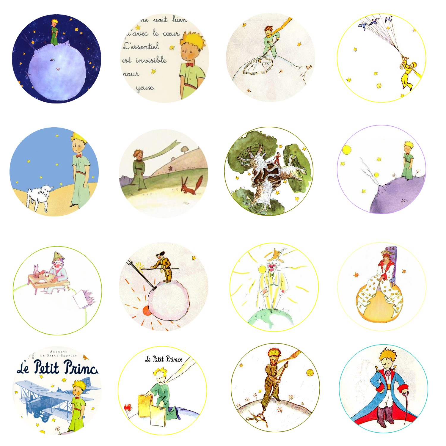 Free bottle cap images le petit prince the little prince Decoration le petit prince