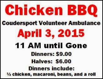 4-3 Chicken BBQ, Coudersport