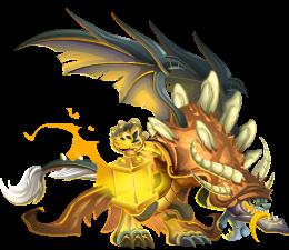 imagen del dragon necro adulto