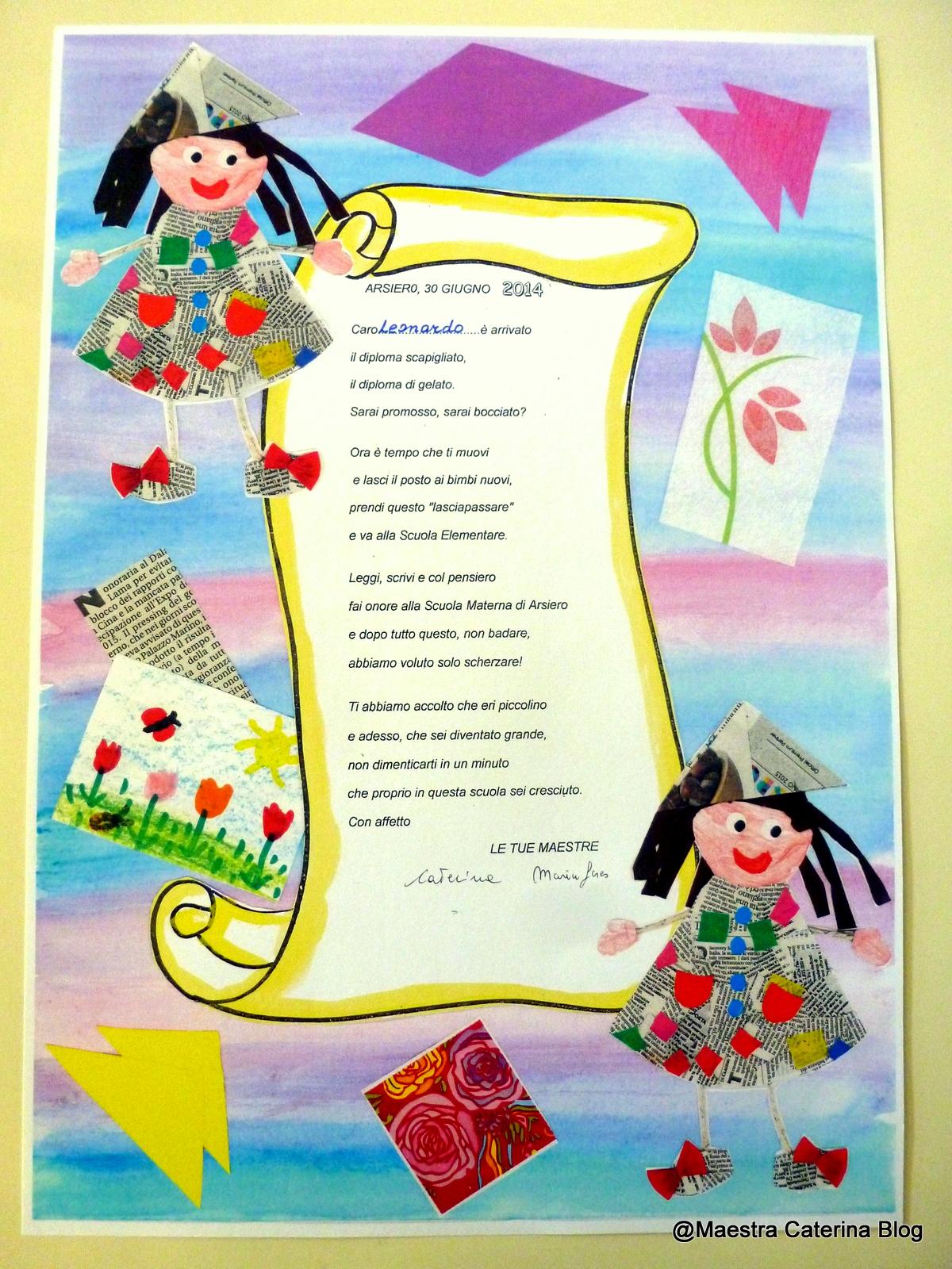 Diplomi asilo nido da stampare wz27 regardsdefemmes for Maestra gemma diritti dei bambini