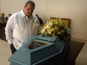 Murió la madre del abogado Yoni Carpio