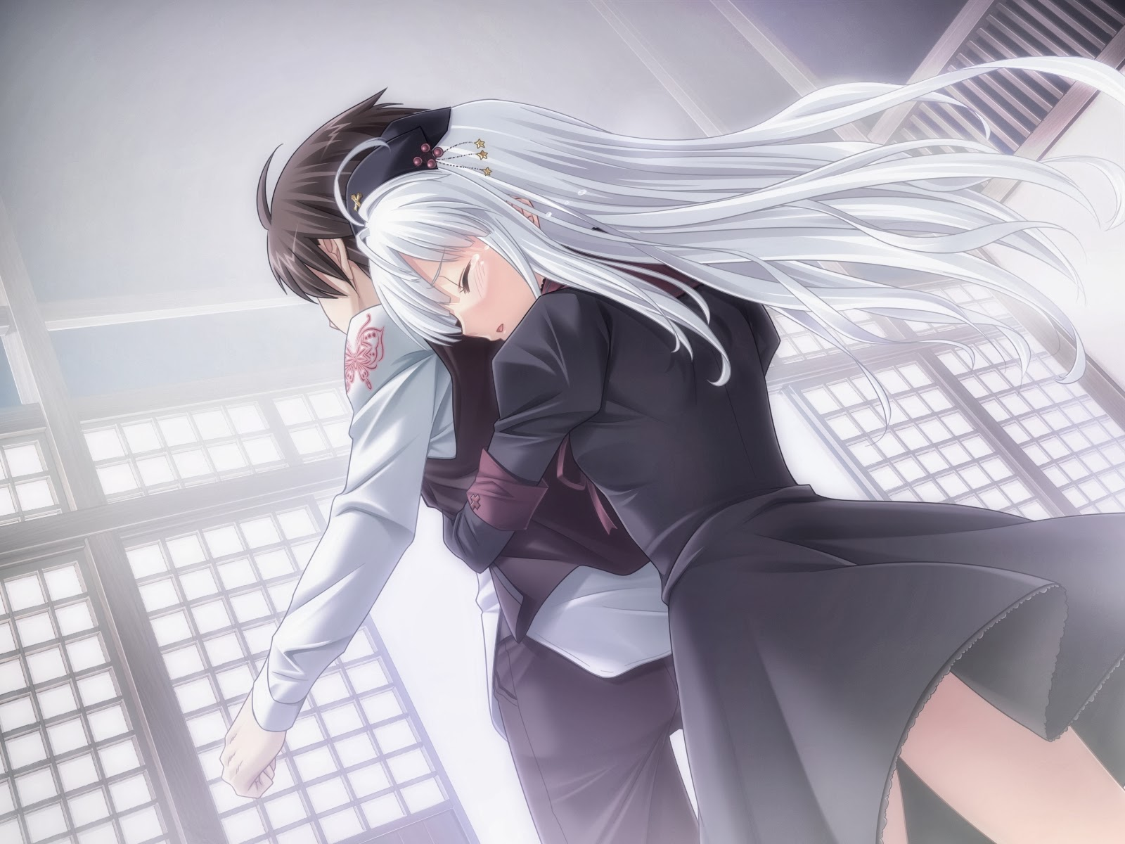 Love is the most powerful light - Anime hug pics ...