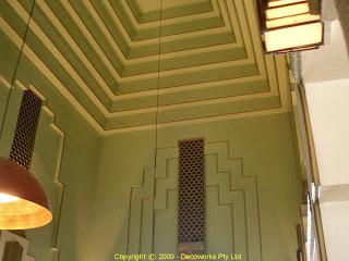 Kinselas chapel ceiling