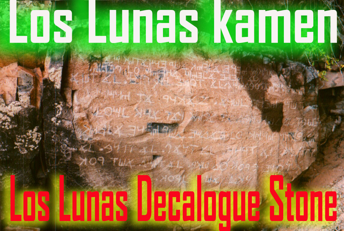 Los Lunas kamen