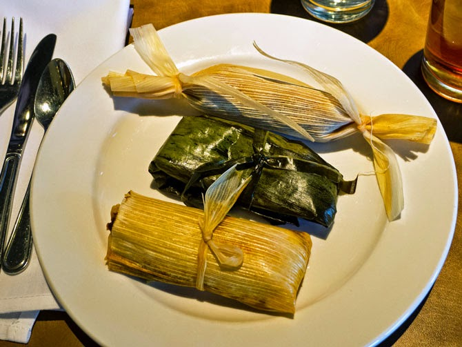 Cooking Weekends: Red Chili Pork Tamales in Banana Leaves