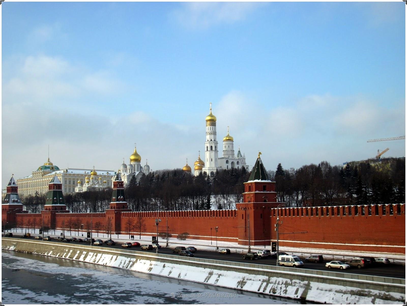 Moscow Kremlin. Moskva River