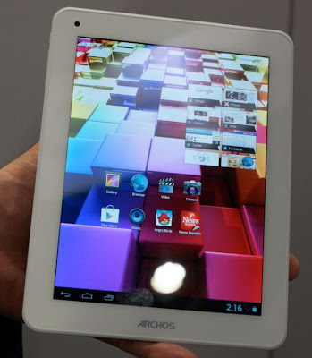 Harga Spesifikasi Archos 80 Titanium, Tablet 8 Inch  Murah Mirip iPad Mini